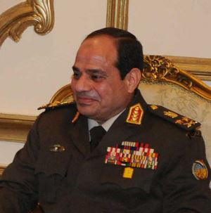 Egyptian General Abd al-Fatah al-Sisi