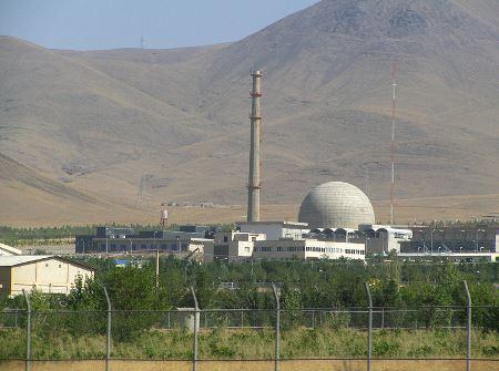 Arak IR-40 Heavy Water Reactor, Iran.