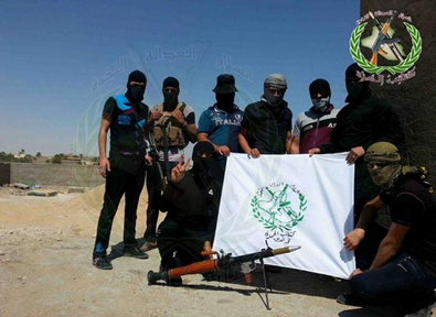 Figure 8. Kata'ib al-Hamza fighters reported to be in Haditha.