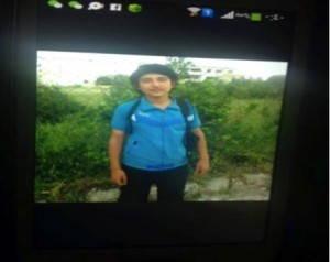 Purported photo of Murad Hallaq, the 16-year-old who was appointed